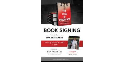 Attorney David Miraldi To Speak About His New Book, Lorain, Ohio