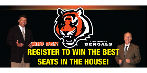 Win Cincinnati Bengals Tickets Courtesy Of Furniture Fair Fairfield