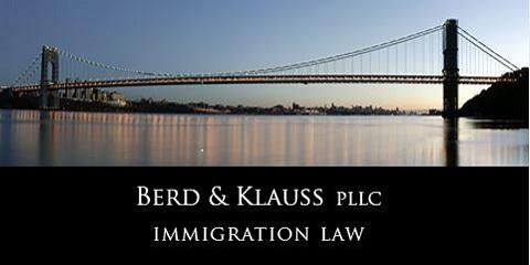 Berd & Klauss, PLLC, Immigration Lawyers, Services, New York, New York