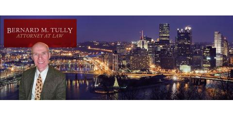 Bernard M. Tully Attorney at Law, Attorneys, Services, Pittsburgh, Pennsylvania