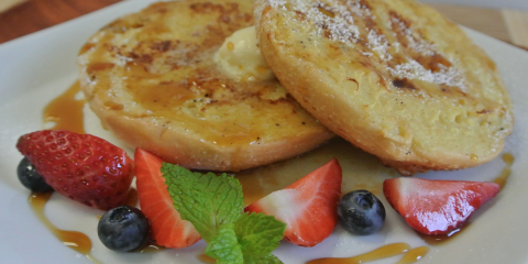 Start Your Day Right With Breakfast at Cafe Grace, Honolulu, Hawaii