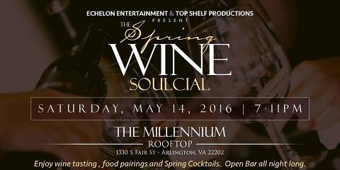 Experience the Best at Markell-Bani Fine Wines' Spring Wine Soulcial, Cincinnati, Ohio