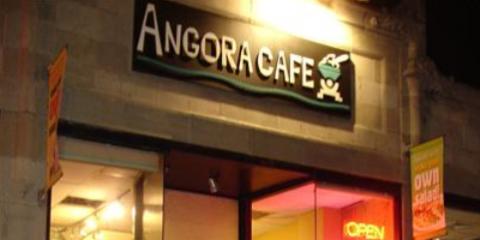 Try Fresh Falafel & The Best Mediterranean Food in Boston at Angora Café, Boston, Massachusetts