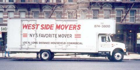 ​Enjoy Stress-Free Moving With West Side Movers, Manhattan, New York