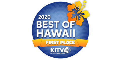 "Hawaiiana Voted KITV's ""Best of Hawaii 2020"" Viewers Choice, Honolulu, Hawaii"