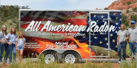 All American Radon LLC, Radon Testing, Services, Monument, Colorado