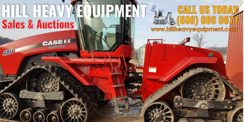 How to Sell Old Construction Equipment at Auctions & Use the Proceeds to Upgrade, Viroqua, Wisconsin