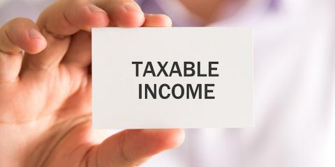 What Income is Taxable?, High Point, North Carolina