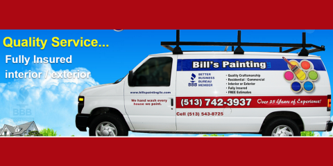Bill's Painting, Painting Contractors, Services, Cincinnati, Ohio