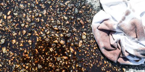 How Oil Stains Damage Asphalt & How to Remove Them, Waynesboro, Virginia