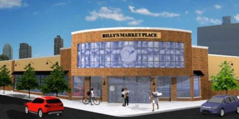 Billy's Marketplace, Produce Markets, Restaurants and Food, Ridgewood, New York