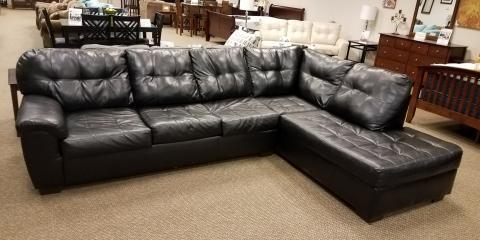 SLEEPER SECTIONAL-DURABLEND-BLACK-$600, St. Louis, Missouri