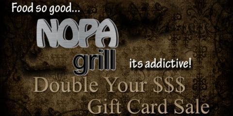 Black Friday NOPA Grill, Winter Park, Florida