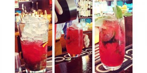 Downtown Cocktail Bar Features Summer Blackberry Mojito, Manhattan, New York