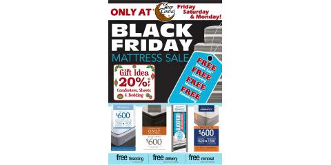 Black Friday Mattress Sale Event, Minocqua, Wisconsin