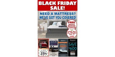 Black Friday Mattress Sale Starts NOW!, Minocqua, Wisconsin