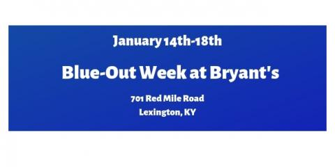 Blue-Out Week, Lexington-Fayette, Kentucky