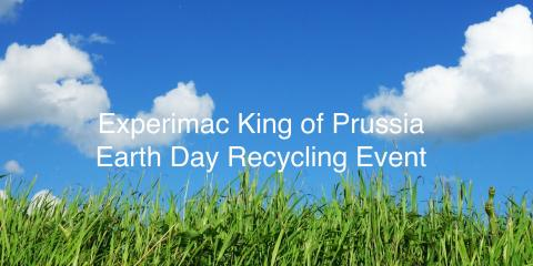 Experimac King of Prussia Earth Day Recycling Event, King of Prussia, Pennsylvania