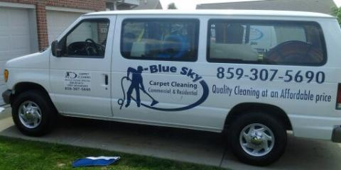 Blue Sky Carpet Cleaning is More Than Just a Carpet Cleaner, Florence, Kentucky