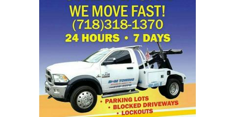 B&M Towing, Auto Towing, Services, Arverne, New York