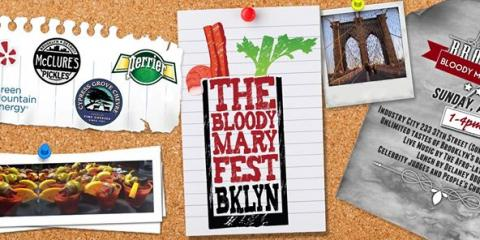 Bloody Mary Festival this Sunday, Brooklyn, New York