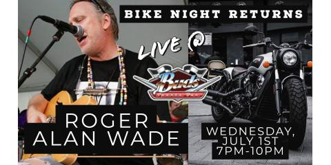 BIKE NIGHT RETURNS WITH ROGER ALAN WADE, Chattanooga, Tennessee