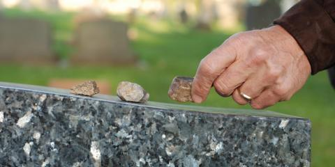 A Guide to the Jewish Custom of Placing Stones on Graves, Bolivar, Missouri