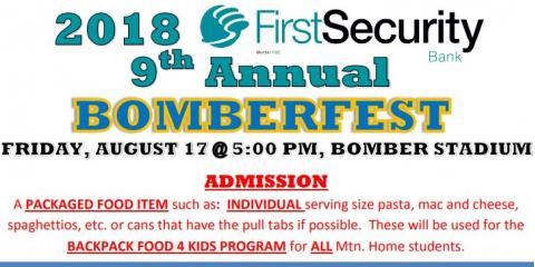 Bomberfest 2018, Mountain Home, Arkansas