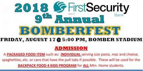 Bomberfest 2018, Mountain Home, Arkansas