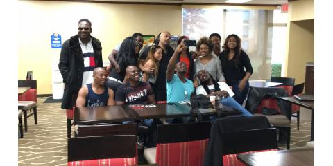 Dj Scripz Got Acquainted With Haitian Presenters, Nominees, And Celebrities Before MPAH Award Ceremony, Manhattan, New York