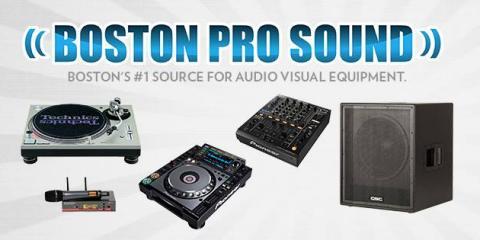 Boston Pro Sound, Audio Visual Equipment, Shopping, Allston, Massachusetts