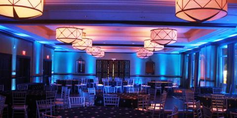 Uplighting packages starting at $500, Boston, Massachusetts
