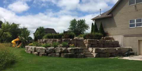 3 Types of Boulder Retaining Walls & Their Benefits, Webster, Minnesota