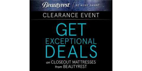 Beautyrest Mattress Clearance Sale, Minocqua, Wisconsin