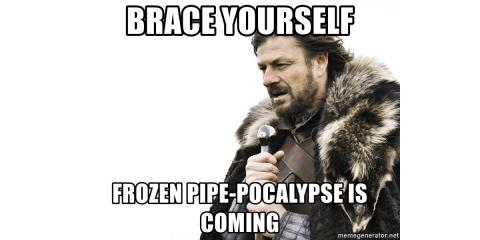Frozen Pipes are Coming Soon! , Lexington-Fayette, Kentucky