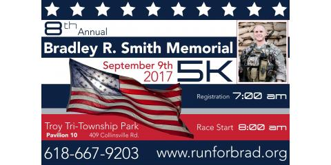 8th Annual Bradley R. Smith Memorial & 5K Run, St. Jacob, Illinois