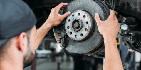 5 Signs of Worn Brakes, Kannapolis, North Carolina