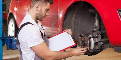 Understanding the Differences Between Drum & Disk Brakes, New Richmond, Ohio