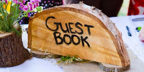 Why You Should Use a Mat Board for Your Wedding Guest Book, Branson, Missouri