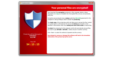 The CryptoLocker Computer Virus is a Threat To Your Data, North Hempstead, New York