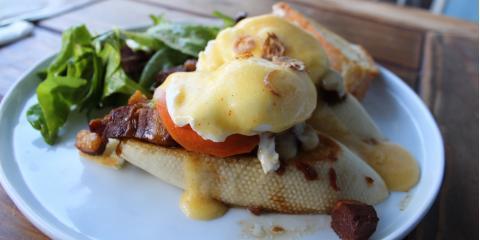 Egghead Cafe Introduces New Breakfast Foods!, Honolulu, Hawaii