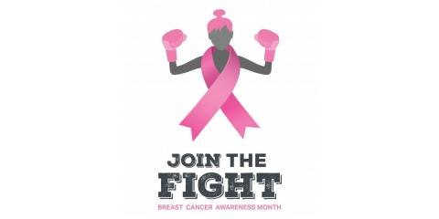 Flag Floors Supports Breast Cancer Awareness Month, Barnesville, Ohio