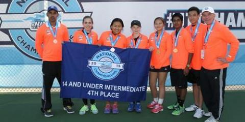 Hardscrabble Club's Junior Tennis Team Is Bound for the National Championships, Brewster, New York