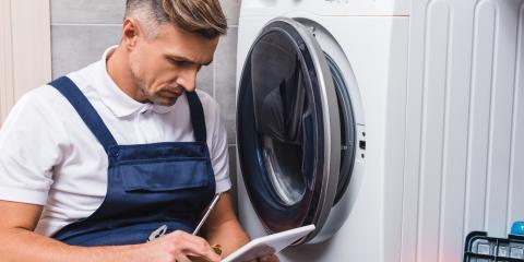3 Signs Your Washing Machine Needs Repairs, Fairport, New York