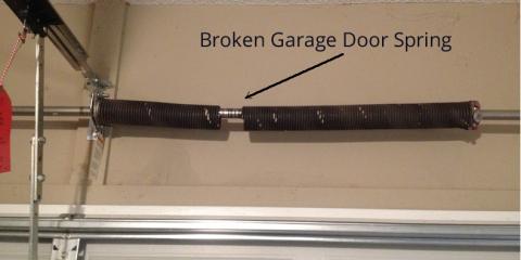 5 Signs Your Garage Door Springs Need Repair, Hudson, Wisconsin