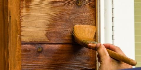 Restoring & Staining Exterior Wood Paneling, Brooklyn, New York