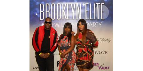 Dj Scripz, Celfiecosmetics, Tahiry Jose, And Claudia Jordan At Barclays Billboard Lounge, Manhattan, New York