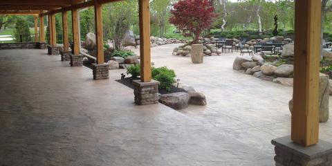 Awesome The Best Options For Stamped Concrete Patios, Gates, New York