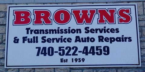 Brown's Transmission's Oil Change Services, Newark, Ohio