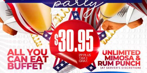 PURA VIDA BRUNCH PARTY- MEMORIAL DAY WEEKEND SUNDAY MAY 26th- MAMAJUANA CAFE PATERSON, Paterson, New Jersey